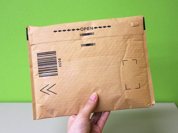 amazonクッション封筒