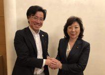 野田聖子大臣と懇談