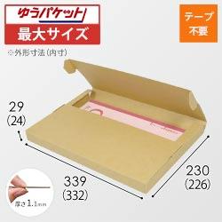 【クリックポスト・ゆうパケット最大】A4厚さ3cm・テープレスケース
