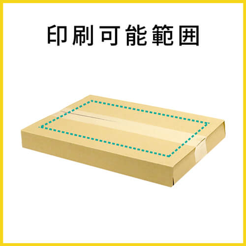 【名入れ印刷】A4厚さ1~4cm変更可・ヤッコ型ケース(ゆうパケット・定型外郵便)