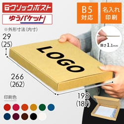 【名入れ印刷】B5厚さ3cm・N式ケース(クリックポスト・ゆうパケット)