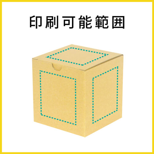 【名入れ印刷】小物用 10cm立方体ケース