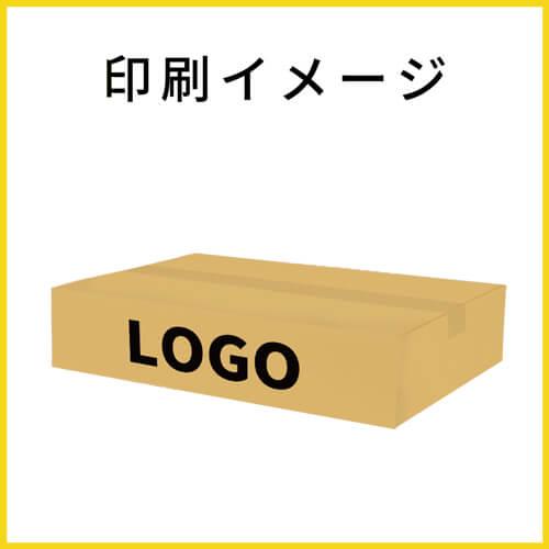 【名入れ印刷】宅配100サイズ ダンボール箱 薄型(490×340×100mm)