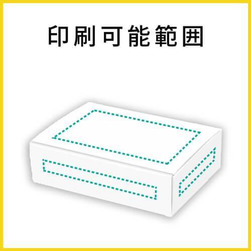 【名入れ印刷】小物用ケース・白(内寸:157×117×41mm)