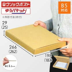 【クリックポスト・ゆうパケット】B5厚さ3cm・N式ケース※材質変更しました