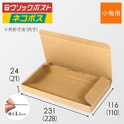 【ネコポス(最小サイズ)・定形外郵便】厚さ2.5cm・N式ケース