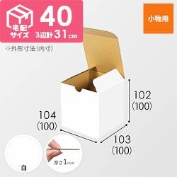 小物用 10cm立方体ケース(白)