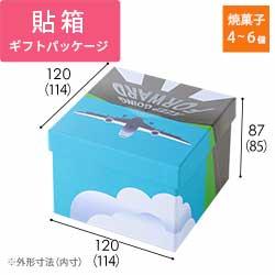 貼り箱・LHS BOX(飛行機FORWARD)