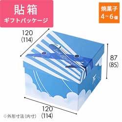 貼り箱・LHS BOX(飛行機flyaway)