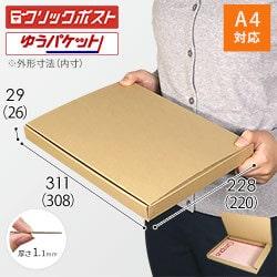 【クリックポスト・ネコポス(個人フリマ向け)】A4厚さ3.0cm・N式ケース