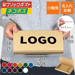 【名入れ印刷】厚さ2.5cm・N式ケース(ネコポス最小・定形外郵便)
