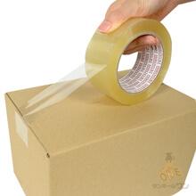 OPPテープ 48mm×50m(中・重梱包用/0.063mm厚)