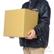 【宅配100サイズ】重量物対応 段ボール箱(349×260×332mm)