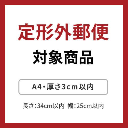 【社名・ロゴ印刷 1色】厚紙封筒(A4メール便対応)※印刷版代無料