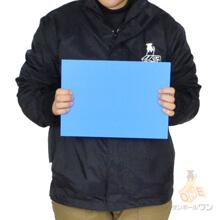 【特価品】プラダンシート A4(水色) 3mm500g
