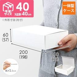 カラーボックス(内寸:198×135×57mm)ホワイト
