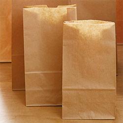 角底袋(茶)幅130×マチ80×高さ235mm