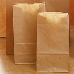 角底袋(茶)幅150×マチ90×高さ280mm