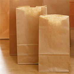 角底袋(茶)幅180×マチ105×高さ350mm