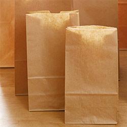 角底袋(茶)幅195×マチ125×高さ350mm