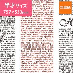 包装紙(フェザーイニシャル)半才(757×530mm)