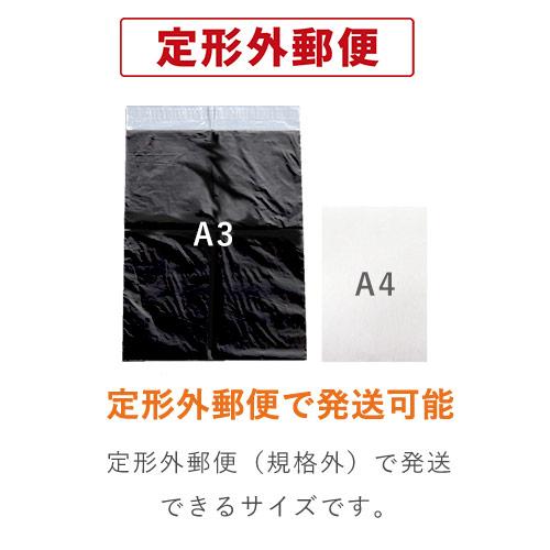 宅配ビニール袋(A3サイズ)・黒