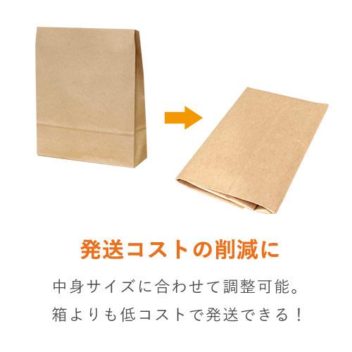 宅配袋 S(茶) テープ付き