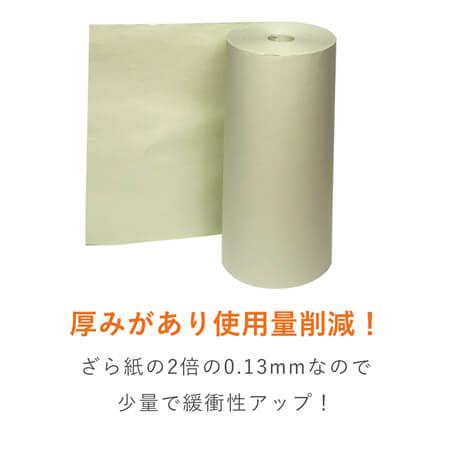 ボーガスペーパー ロール 51g/m2(538mm×350m)※色指定不可