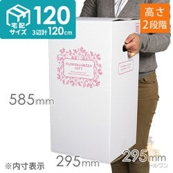 フラワーギフト 発送BOX(外箱のみ)【宅配120サイズM】