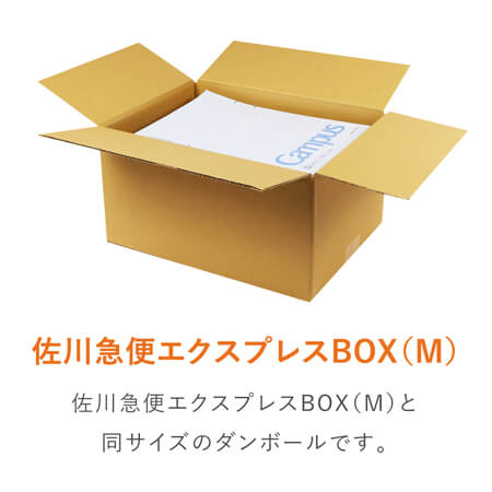 【宅配80サイズ】佐川エクスプレスBOX(Mサイズ)