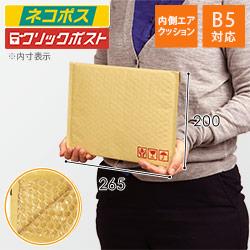 クッション封筒(B5サイズ)
