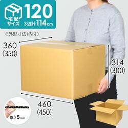 【宅配120サイズ】定番段ボール箱(DA008)