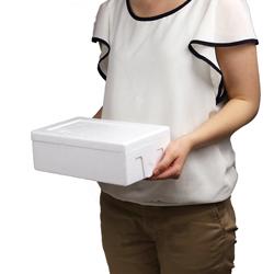 【宅配60サイズ】発泡スチロール箱 ※平日9~17時受取限定(日時指定×)