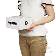 【楽天ロゴ入り】宅配50サイズ 白ダンボール箱