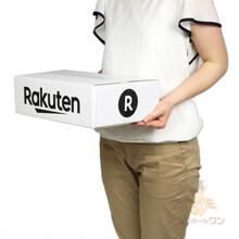 【楽天ロゴ入り】宅配80サイズ 白ダンボール箱(薄型A4)
