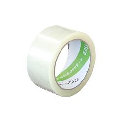手で切れるOPPテープ 48mm×50m(軽・中梱包用/0.055mm厚)
