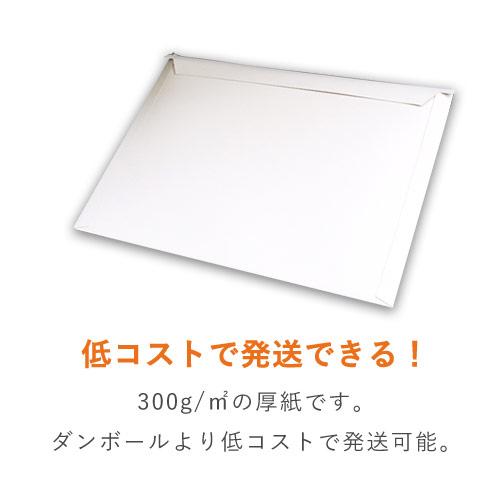 【クリックポスト・ゆうパケット】A4・角2 厚紙封筒 (開封ジッパー付き)