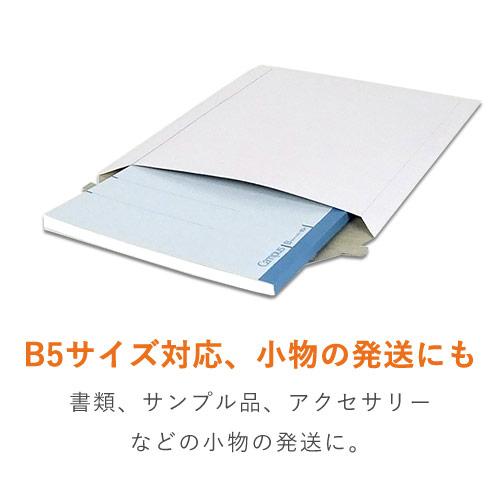 【ネコポス・クリックポスト】B5・厚紙封筒(開封ジッパー付き)