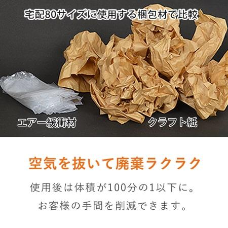 エアー緩衝材・小(160×45×高さ40mm)1箱 約1000個入