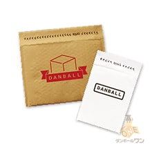 【オリジナル印刷 1色】クッション封筒(ネコポス・ゆうパケット最大)※A4不可