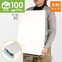 宅配袋 LL(白) テープ付き