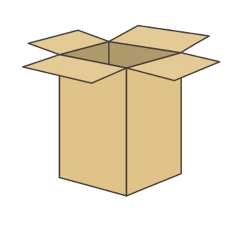 ダンボール箱(長さ137x幅137x深さ522mm)