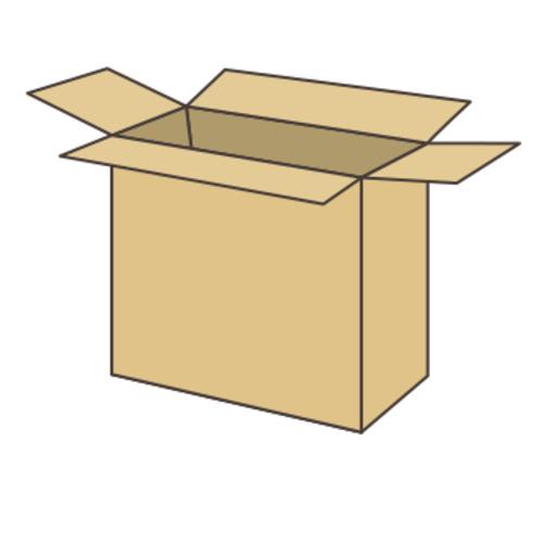 ダンボール箱(長さ330x幅240x深さ390mm)