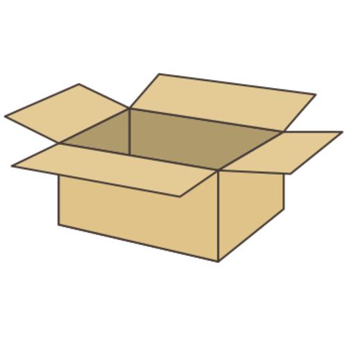 ダンボール箱(長さ314x幅221x深さ141mm)