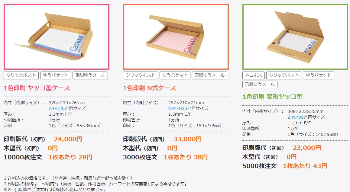 印刷参考価格